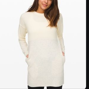 NWT Restful Intention Sweater, Size Sm White